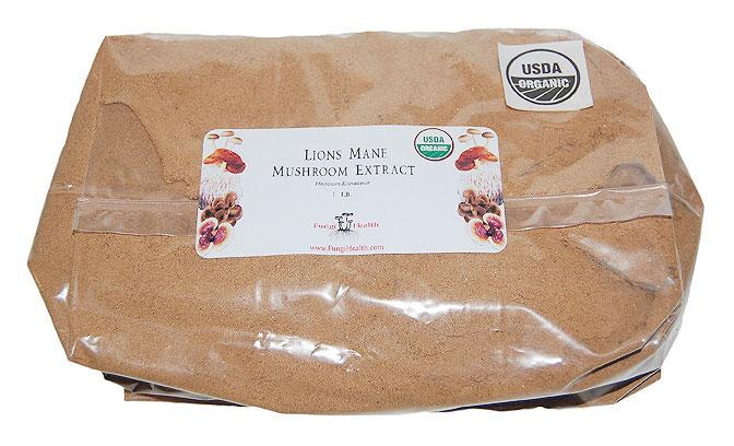 Lions Mane Mushroom Extract - 1 lb.