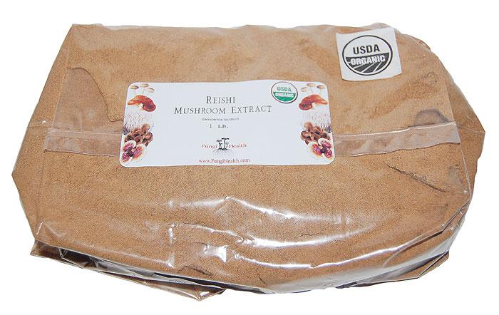 Reishi Mushroom Extract - 1 lb.
