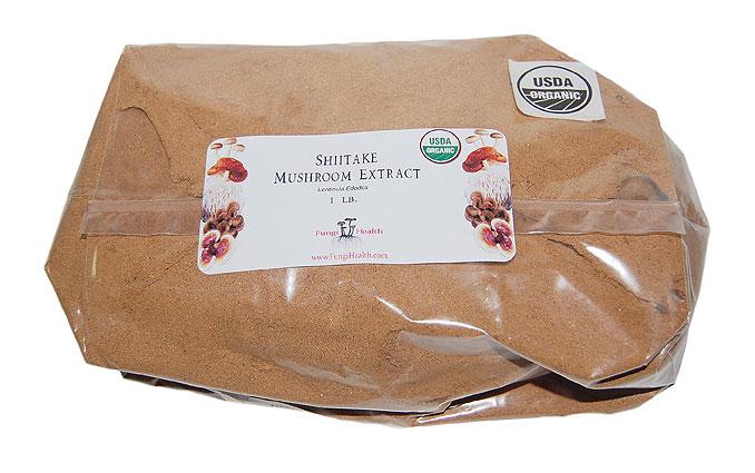 Shiitake Mushroom Extract - 1 lb.