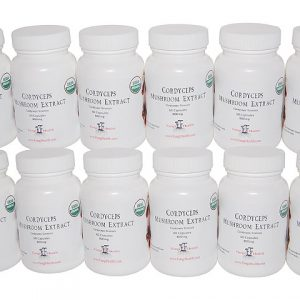 Cordyceps Mushroom Extract - 1 Year Supply