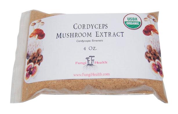 Cordyceps Mushroom Extract - 4 oz.