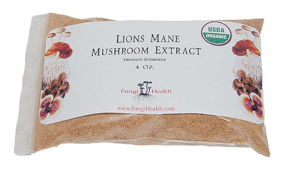 Lions Mane Mushroom Extract - 4 oz.