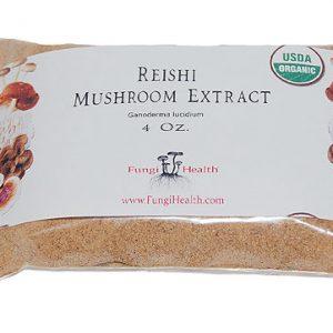 Reishi Mushroom - Gonoderma Lucidium Extract - 4 oz.