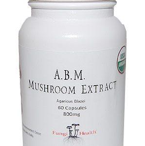 ABM Mushroom Extract - 60 Capsules