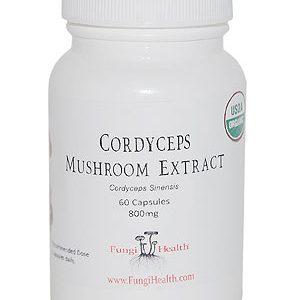 Cordyceps Mushroom Extract - 60 Capsules