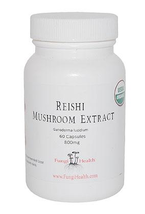 Reishi Mushroom Extract - 60 Capsules
