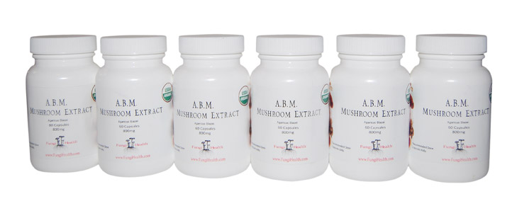 ABM Mushroom Extract - 6 Month Supply
