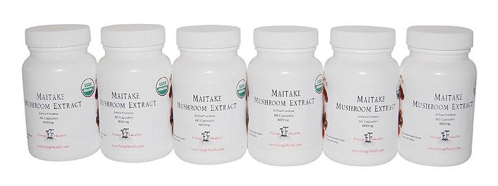 Maitake Mushroom Extract - 6 Month Supply