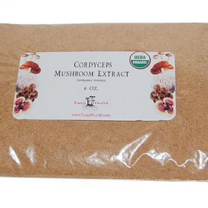 Cordyceps Mushroom Extract - 8 oz.