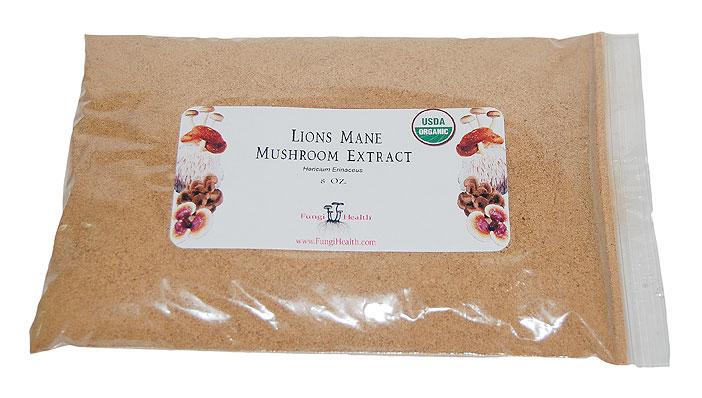 Lions Mane Mushroom Extract - 8 oz.